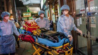 Allarme Coronavirus a Hong Kong (LaPresse)