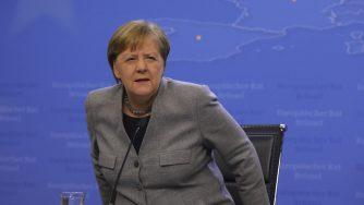 Merkel vertice Bruxelles (La Presse)