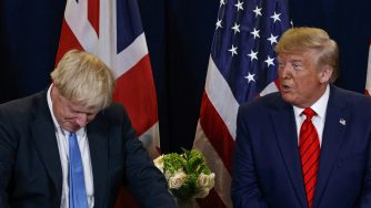 Johnson e Trump