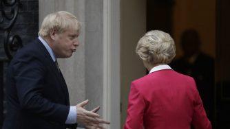 Brexit, Johnson riceve Von der Leyen a Londra (La Presse)