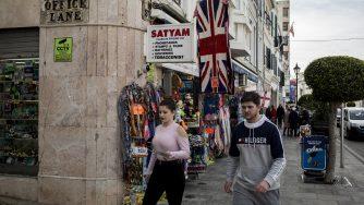 Brexit a Gibilterra (LaPresse)