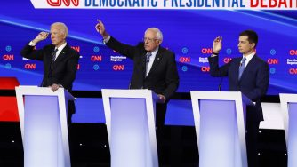 Candidati democratici (LaPresse)