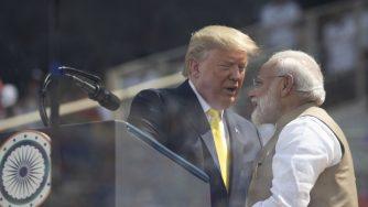 Trump e Modi (La Presse)