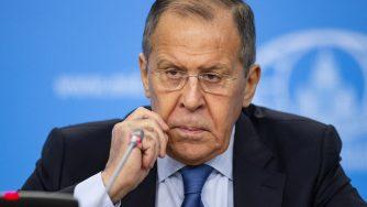 Russia, ministro degli Esteri Sergey Lavrov (La Presse)