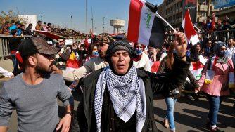 Iraq proteste (La Presse)