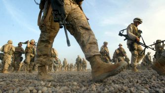 Soldati Usa Marines in Iraq (La Presse)