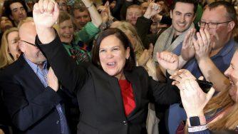 Mary Lou McDonald, leader del Sinn Fein (LaPresse)