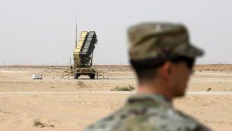 Sudit Patriot missile