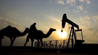 Gulf Oil petrolio Golfo deserto