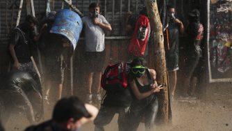 Proteste in Cile (LaPresse)