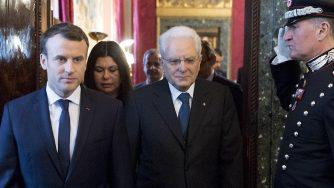 Mattarella e Macron