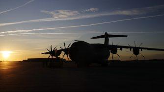 Aereo militare base Orleans (La Presse)