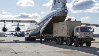 Aiuti russi in Italia (La Presse)