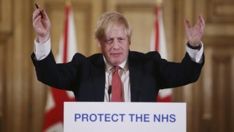Boris Johnson coronavirus (La Presse)