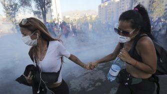 Cile proteste covid