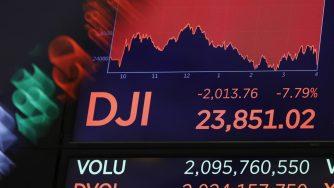 Borsa crollo Usa