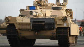U.S. Troops Unload Heavy Equipment For Defender 2020 Exercises