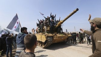 Siria Idlib pattugliamenti