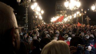 Macedonia del Nord proteste