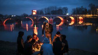 Migranti in Grecia (LaPresse)
