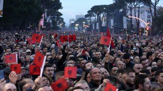 Proteste in Albania