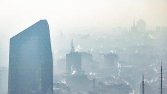 Smog a Milano (La Presse)