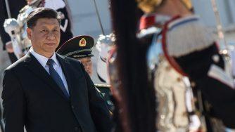 Xi in Italia (La Presse)