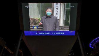 Xi Jinping covid (La Presse)