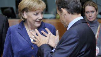 Angela Merkel e Nicolas Sarkozy (LaPresse)