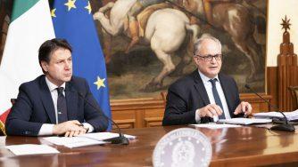 Conte e Gualtieri (LaPresse)