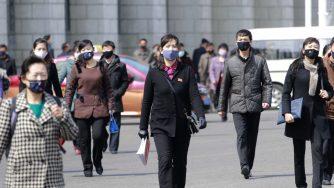 Corea del Nord covid (La Presse)