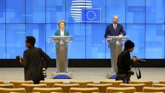 Europa von der Leyen Michel (La Presse)
