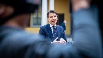Il presidente del Consiglio_Giuseppe Conte (Fotogramma)