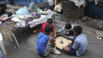 India baraccopoli coronavirus (La Presse)