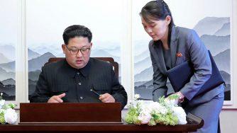 Kim Jong Un e Kim Yo Jong (LaPresse)