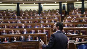 Spagna politica Parlamento (La Presse)