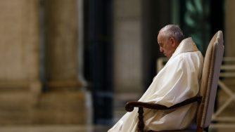 Papa Francesco covid (La Presse)