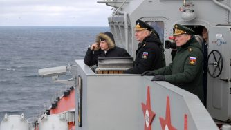 Putin Marina russa (La Presse)