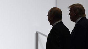 Vladimir Putin e Donald Trump (LaPresse)