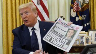 Trump Twitter La Presse