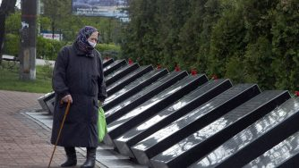 Donna anziana Chernobyl (La Presse)