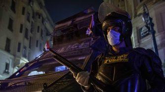 Egitto polizia coronavirus (La Presse)