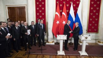 Russia-Turchia incontro Erdogan Putin (La Presse)