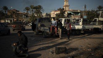 Libia attacco Tripoli (La Presse)