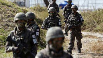 Corea del Sud esercito (La Presse)