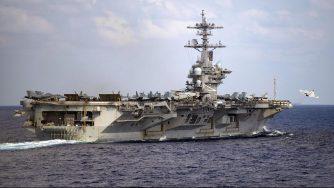 Portaerei Marina americana Uss Theodore Roosevelt (La Presse)