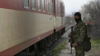 Soldato Grecia (La Presse)