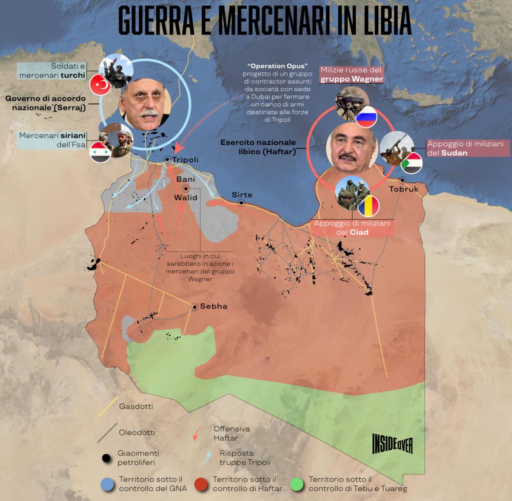 Libia, l'inferno dei mercenari