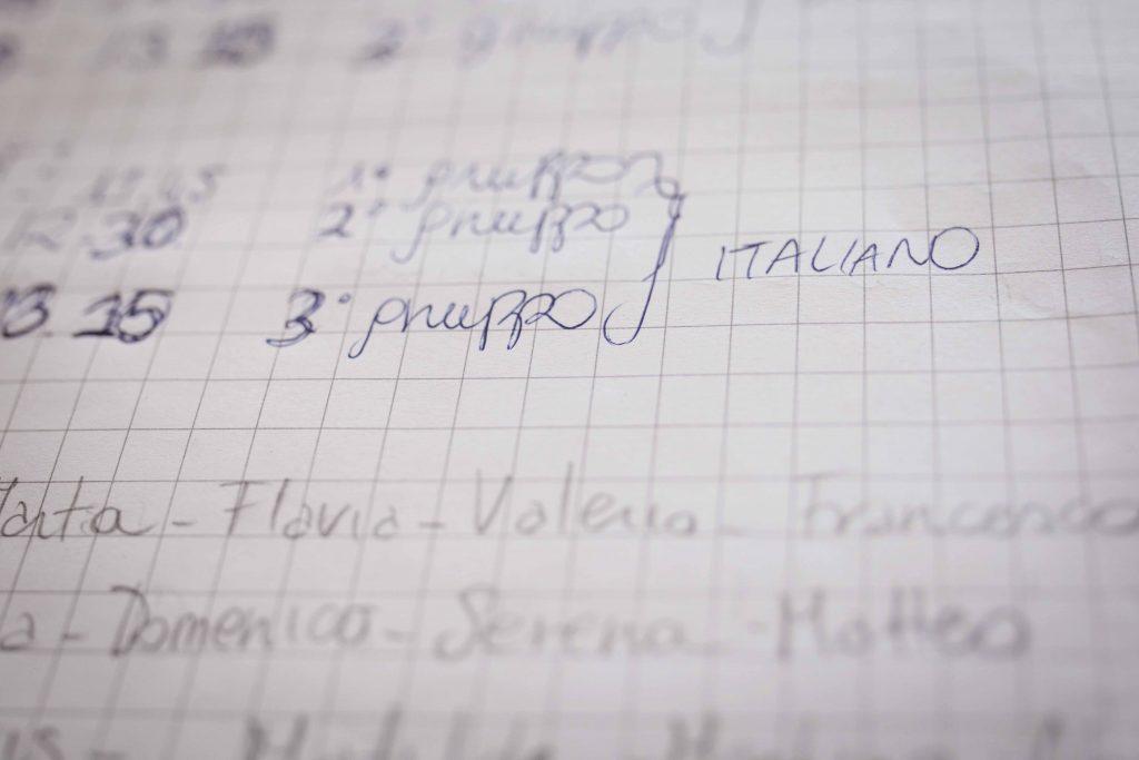 Francesca, maestra elementare