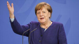 Merkel Speaks To Media (Getty)